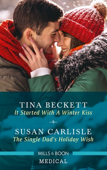 It Started with a Winter Kiss/The Single Dad's Holiday Wish