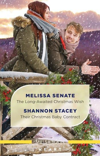 The Long-Awaited Christmas Wish/Their Christmas Baby Contract